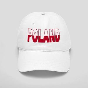 Poland World Cup Soccer Flag Cap