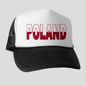 Poland World Cup Soccer Flag Trucker Hat