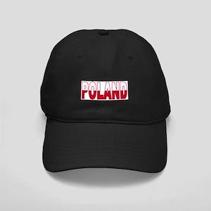 Poland World Cup Soccer Flag Black Cap