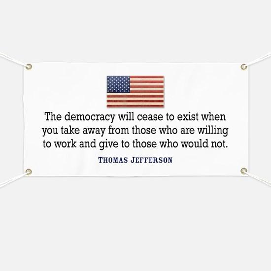 Quote Democracy Banner