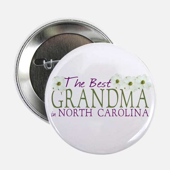 "Best Grandma in NC 2.25"" Button"