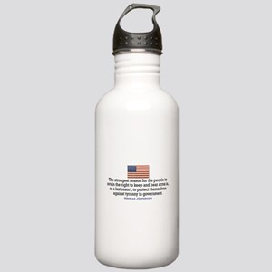 Jefferson 2nd Amendment Stainless Water Bottle 1.0