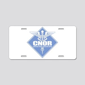 CNOR Aluminum License Plate