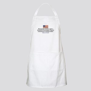 Jefferson Quote on Tyranny Apron