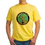 USS CONWAY Yellow T-Shirt