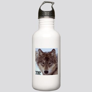 Wolf YNP, Wyoming Stainless Water Bottle 1.0L