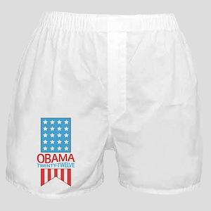 Obama Twenty Twelve Flag Boxer Shorts
