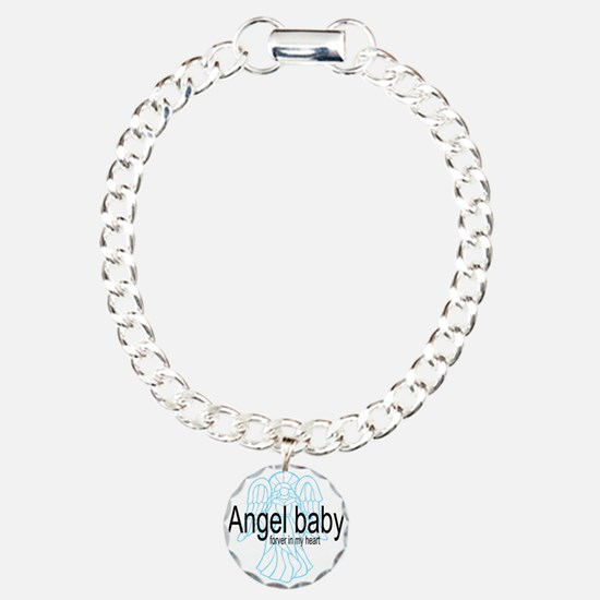 Angel Baby in My Heart Bracelet