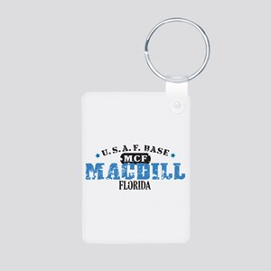 MacDill Air Force Base Aluminum Photo Keychain