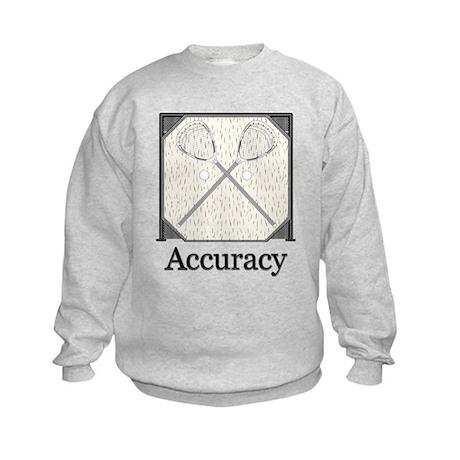 Lacrosse Goal Kids Sweatshirt