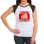 Stop Simpin' Women's Cap Sleeve T-Shirt