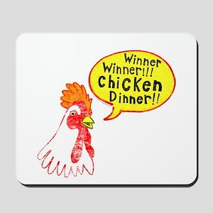 Winner Chicken Dinner Mousepad