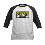 Too Bad For You NJ Plate Kids Baseball Jersey