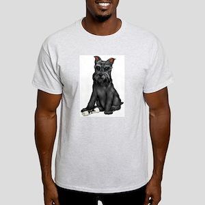 puppy graduate Ash Grey T-Shirt