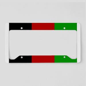 Afghanistan Flag Extra License Plate Holder