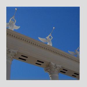 Angels Trumpet Tile Coaster