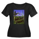 Saguaro Zombies Zombie 2 Women's Plus Size Scoop N