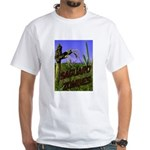Saguaro Zombies Zombie 2 White T-Shirt