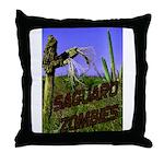 Saguaro Zombies Zombie 2 Throw Pillow