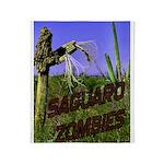 Saguaro Zombies Zombie 2 Throw Blanket