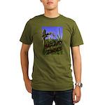 Saguaro Zombies Zombie 2 Organic Men's T-Shirt (da