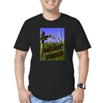 Saguaro Zombies Zombie 2 Men's Fitted T-Shirt (dar