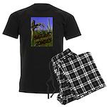 Saguaro Zombies Zombie 2 Men's Dark Pajamas