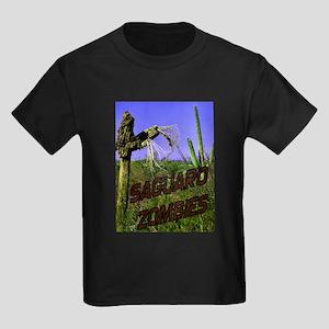Saguaro Zombies Zombie 2 Kids Dark T-Shirt