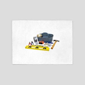 Tools071809 5'x7'Area Rug