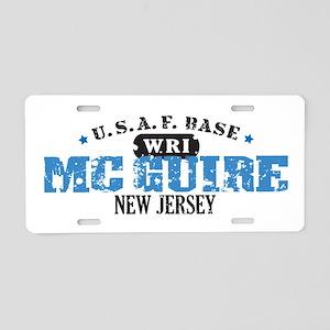 McGuire Air Force Base Aluminum License Plate