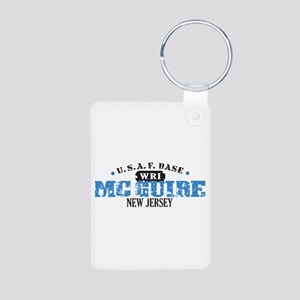 McGuire Air Force Base Aluminum Photo Keychain