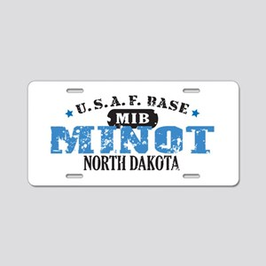 Minot Air Force Base Aluminum License Plate