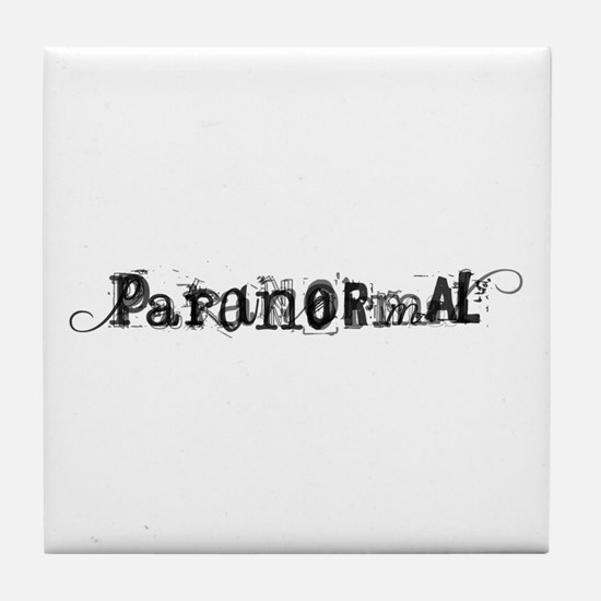 Paranormal Tile Coaster