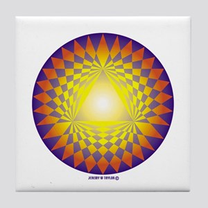 Crop Circle Tile Coaster