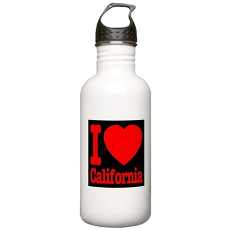 I Love California Stainless Water Bottle 1.0L