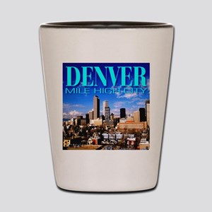 Denver Mile High City Shot Glass