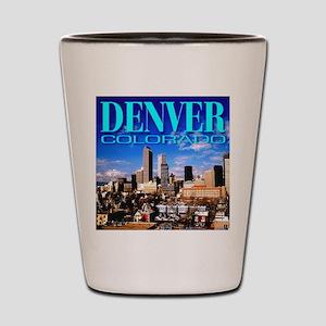 Denver, Colorado Shot Glass