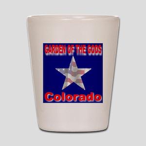 Garden of the Gods Colorado Shot Glass