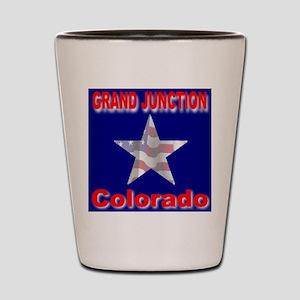 Grand Junction Colorado Shot Glass