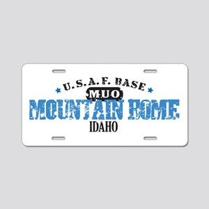 Mountain Home Air Force Base Aluminum License Plat