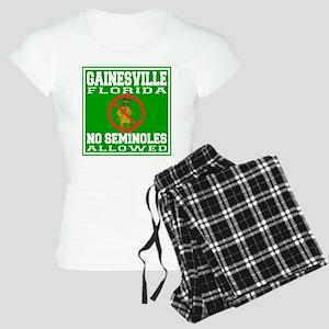 Gainesville Florida Women's Light Pajamas