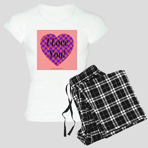 I Love You Women's Light Pajamas