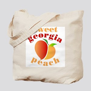 Sweet Georgia Peach Tote Bag