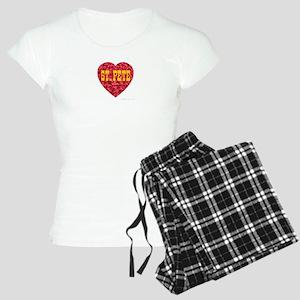 I Love St. Pete Women's Light Pajamas