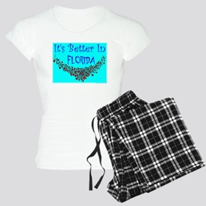 It's Better In Florida #9 Women's Light Pajamas