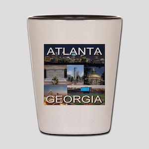 Atlanta, Georgia Shot Glass
