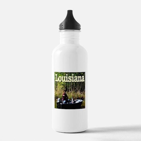 Louisiana Fisherman Water Bottle