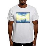Birthday Box Watercolor Ash Grey T-Shirt
