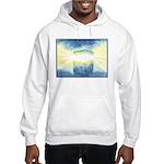 Birthday Box Watercolor Hooded Sweatshirt