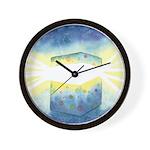 Birthday Box Watercolor Wall Clock